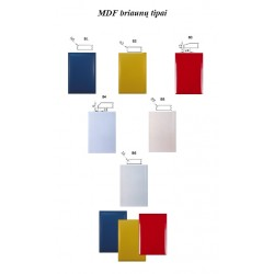 MDF briaunos